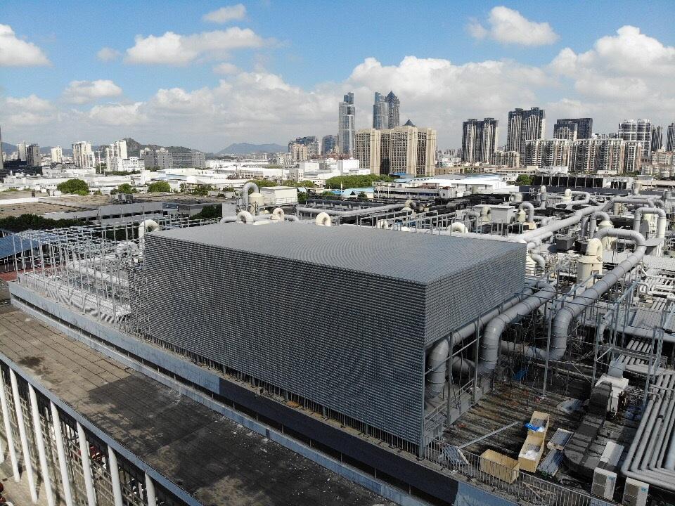 國巨一廠屋頂裝飾
